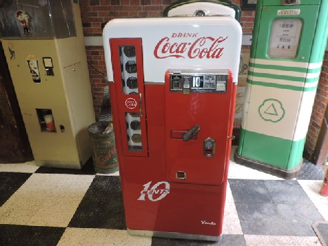 Restored Vendo 56 Coca Cola machine
