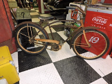 Original 1950s American bicycle