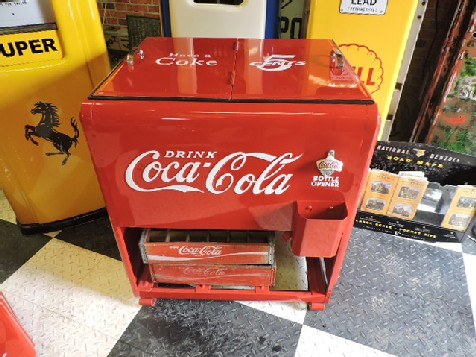 Restored Coca Cola Westinghouse Standard ice cooler