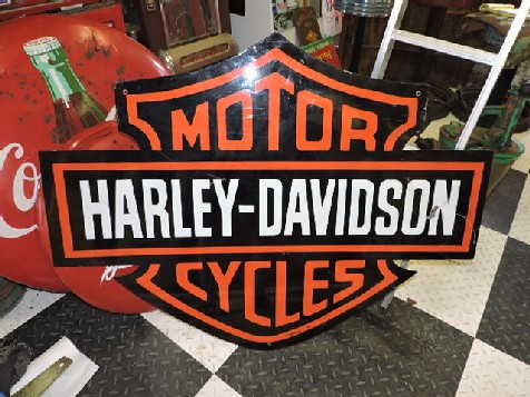 Harley Davidson dealership sign