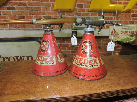 Original Redex dispensers