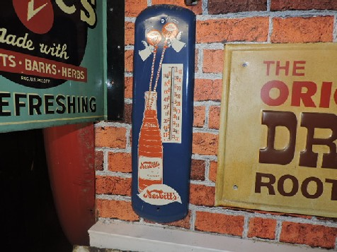 Rare Nesbitts thermometer sign