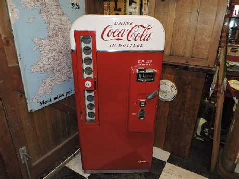 Coca Cola Vendo 81 vending machine
