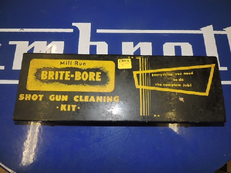 Vintage Brite bore shot gun cleaning kit