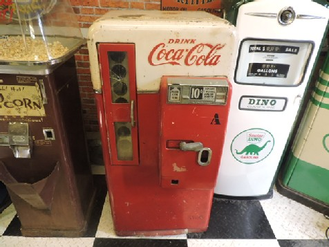 Original Coca Cola Vendo 56 vending machine