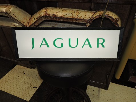 Jaguar dealership light box