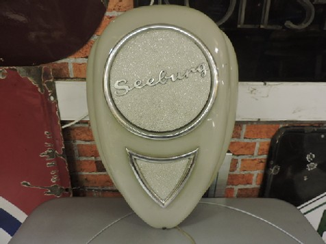 New Seeburg teardrop jukebox speaker
