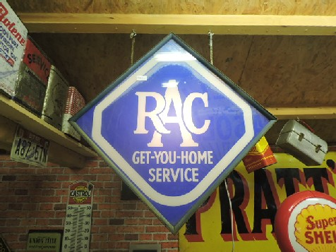 Rare RAC get you home service light box