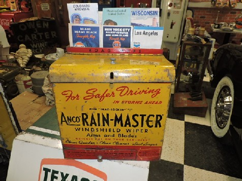 1945 Anco rain master wall display