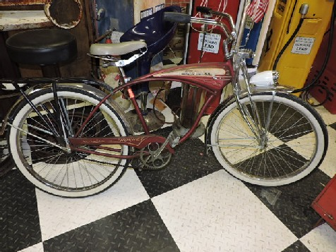 1957 Schwinn Hornet bicycle