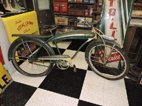 Original 1940s National mens bicycle