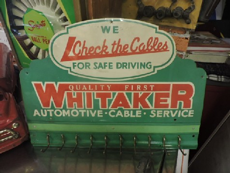 Whitaker automotive cable display rack