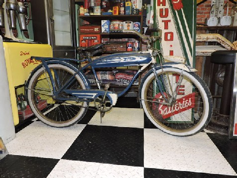 Original 1950s Columbia Deluxe mens bicycle