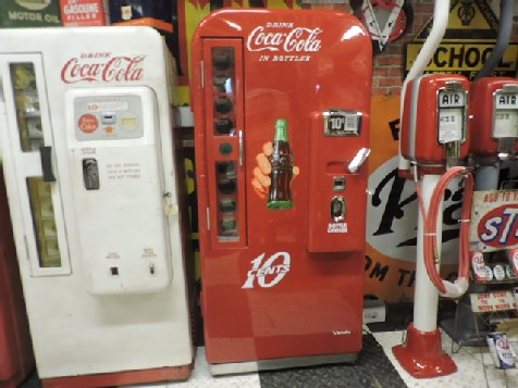 Fully restored Vendo 81A Coca Cola machine