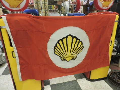 Original Shell gas-petrol station flag