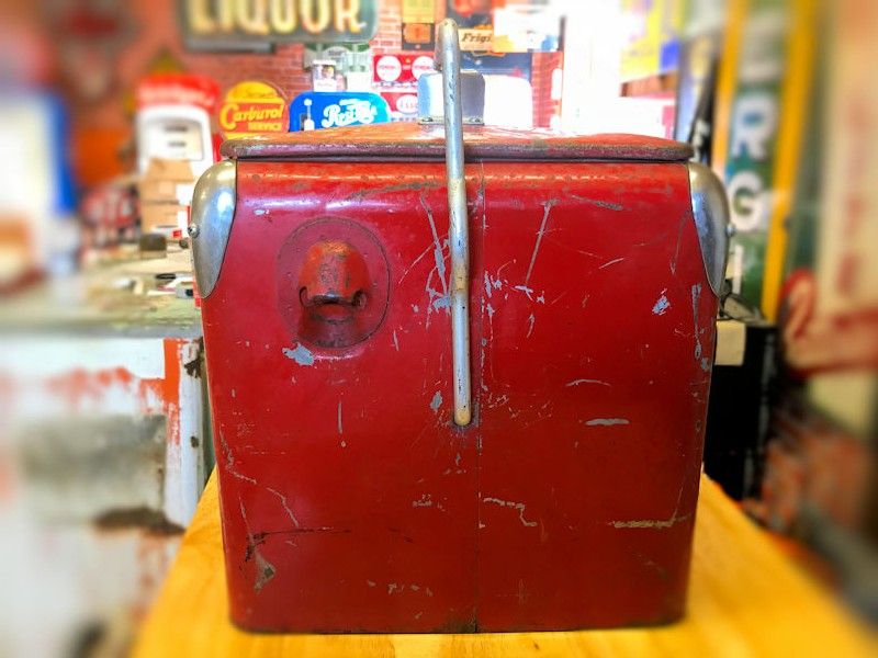 Original vintage Junior Coca Cola cooler