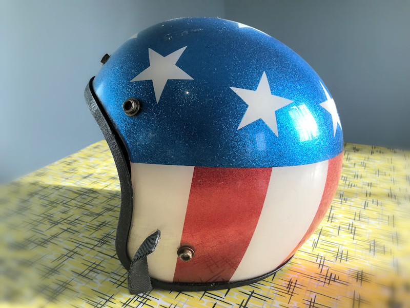 1968 Easy Rider crash helmet