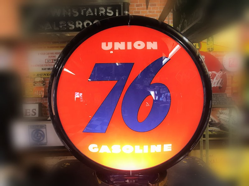 Rare Bowser model 585 Union 76 themed gas/petrol pump