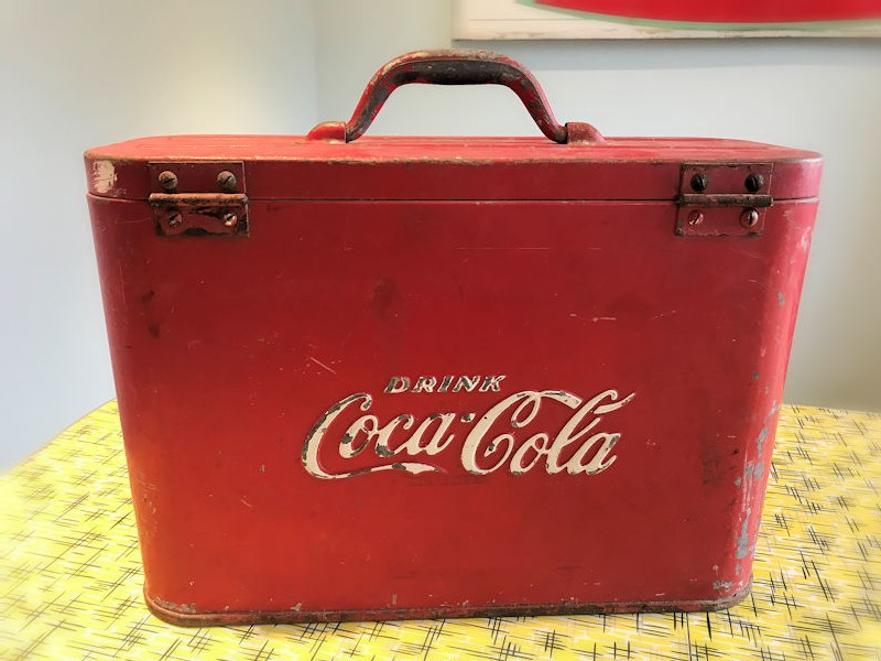Original airline Coca Cola cooler