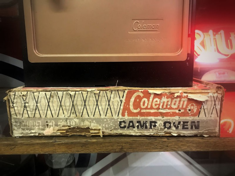 Original vintage new old stock Coleman camping stove