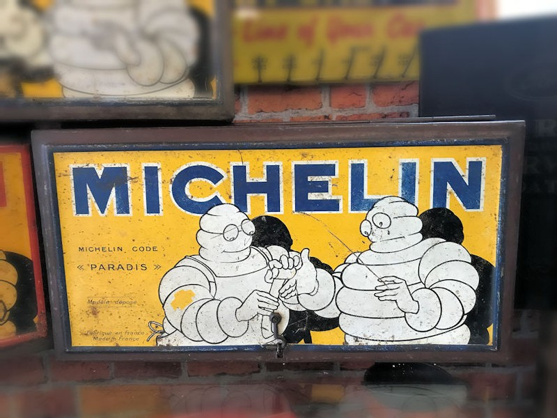 1930s Michelin puncture repair kit-tins