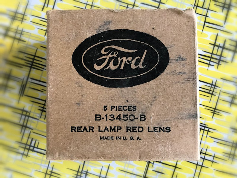 1932 NOS Ford tail lights lens