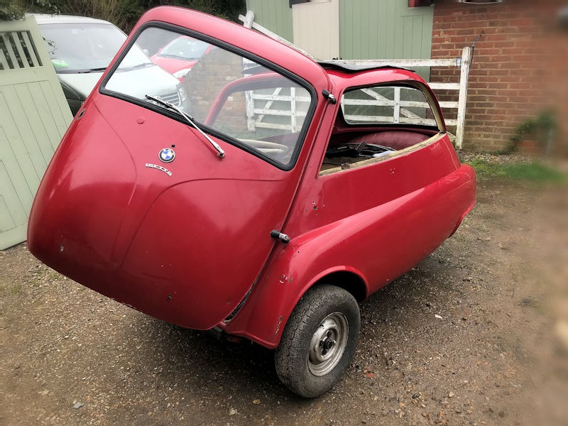 1959 BMW Isetta 300 bubble car