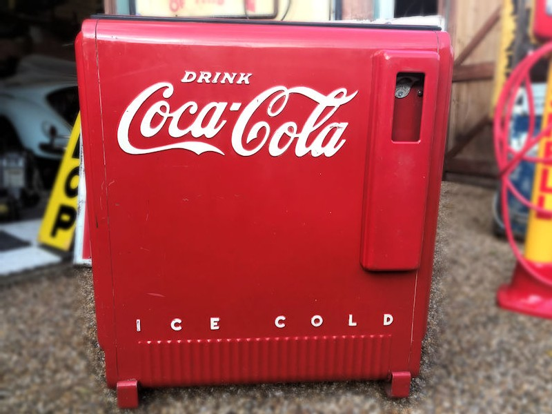All original 1930s deluxe Westinghouse Coca Cola ice chest