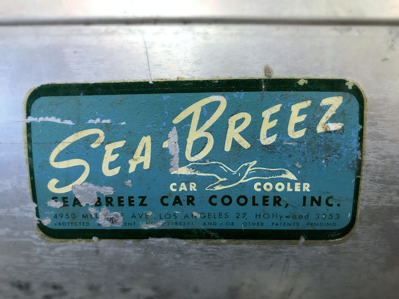 Original Seabreeze swamp cooler