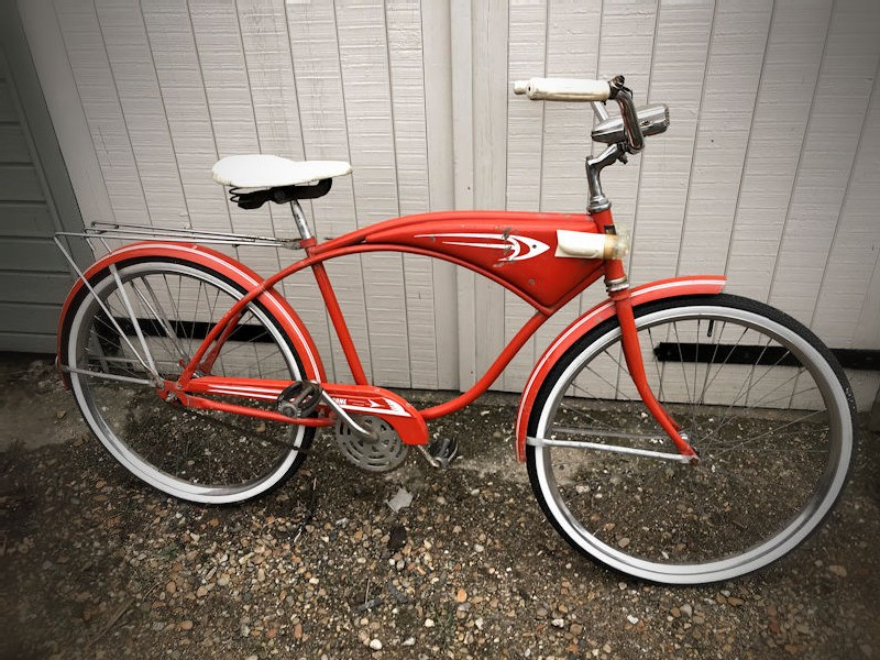 All original 1950s Hawthorne mens 26 inch bicycle