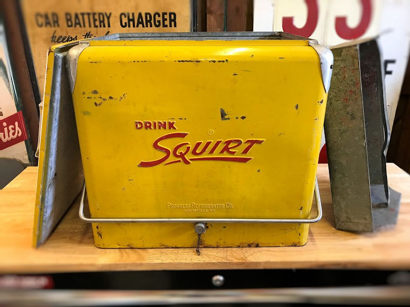 Rare complete Squirt cooler