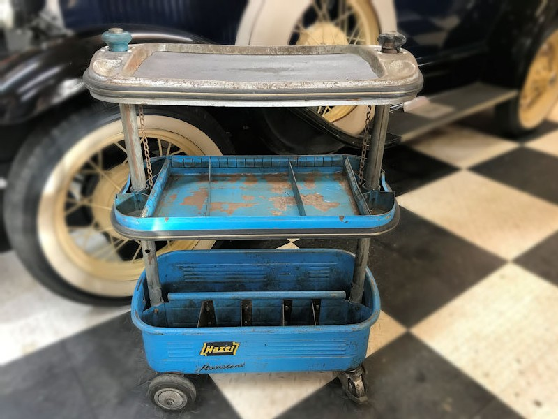 Original Hazet Assistent Tool Trolley