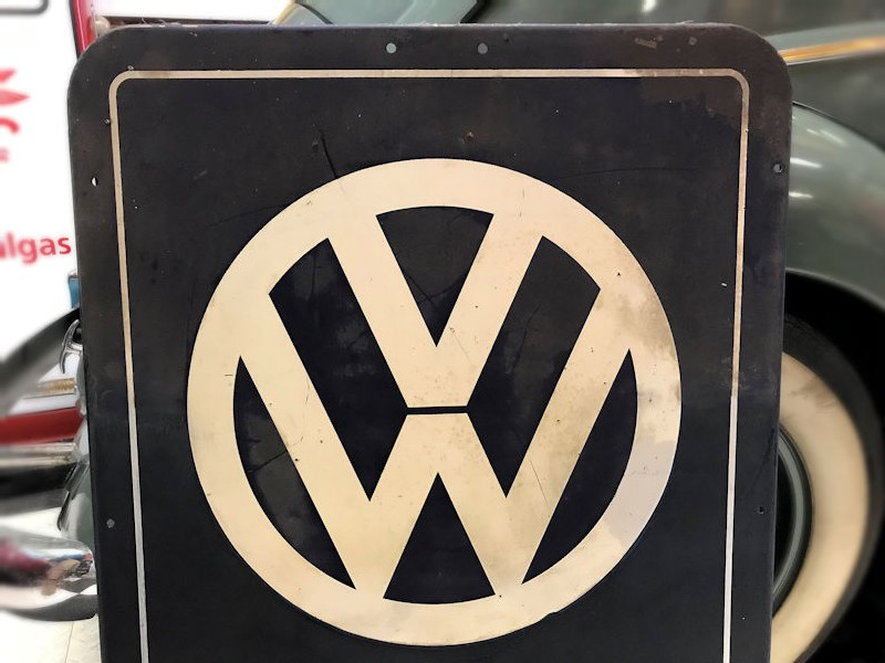 Original 1954 VW Service sign