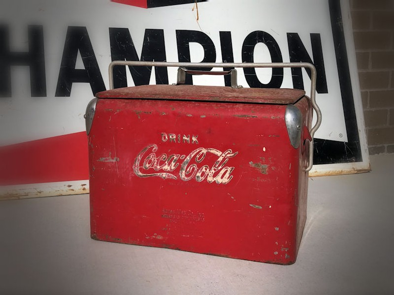 Original junior style Coca Cola cooler