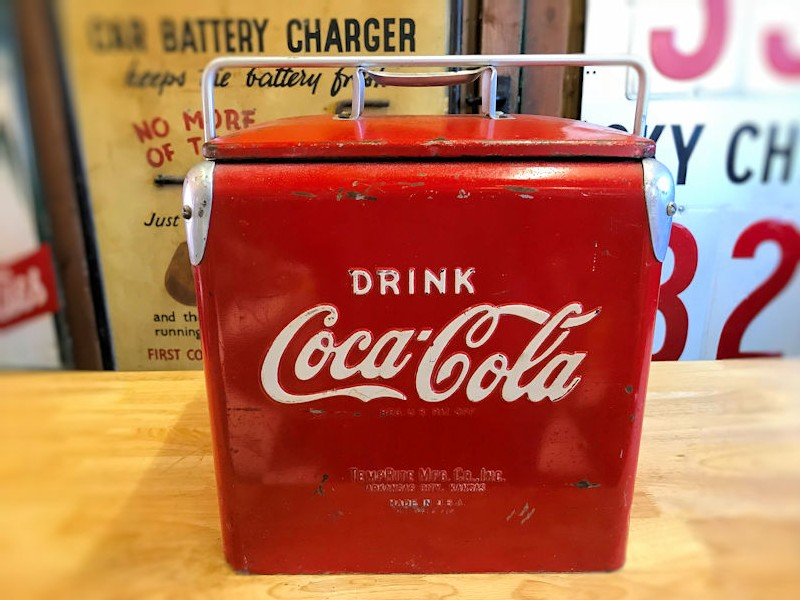 Rare original Coca Cola six pack cooler