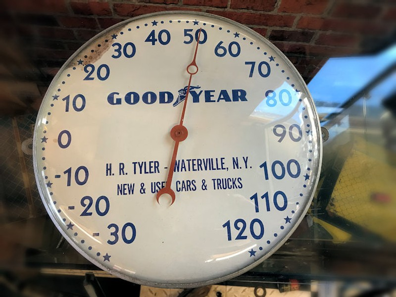 Original Goodyear thermometer