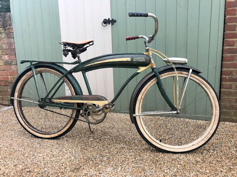 1940s pre war National skip tooth mens bicycle