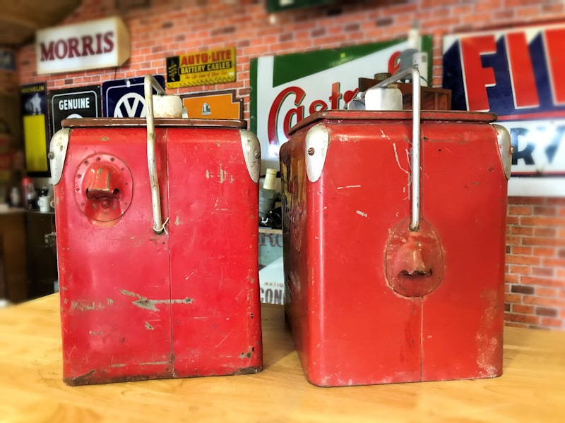 Original Coca Cola 6 pack coolers
