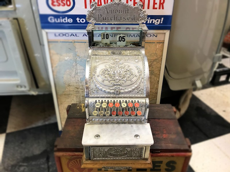 Original 1930s 312 series American cash register till