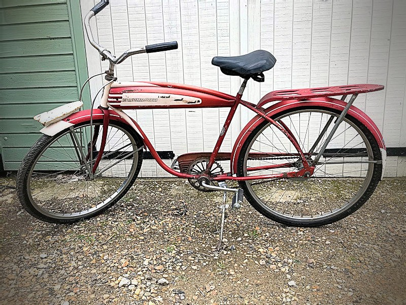 All original 1950s Road Master Jet Pilot mens 26 inch bicycle