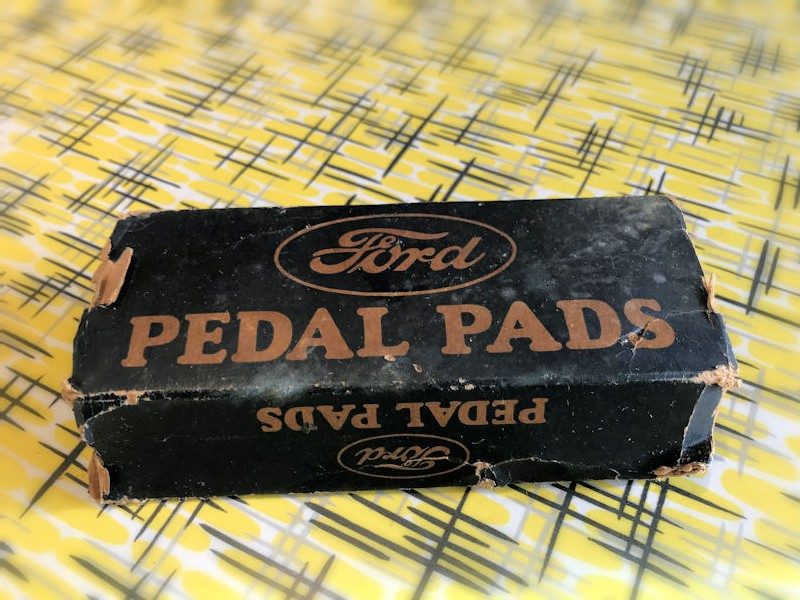 NOS Ford model A pedal pads