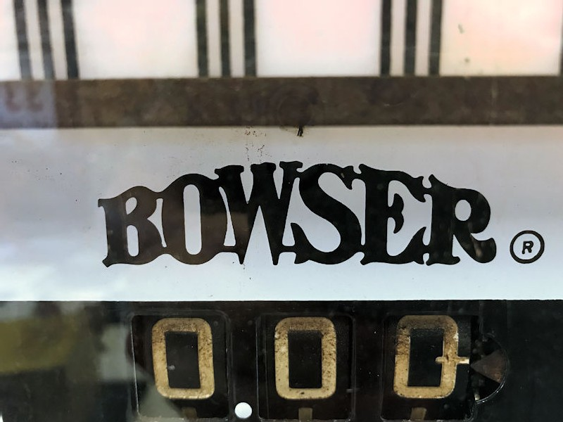 Rare Bowser model 585 Union 76 themed gas/petrol pump - The